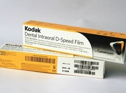 Рентгенпленка для Стоматологии 31 х 41мм 100 л. Kodak-D-speed Dental Film