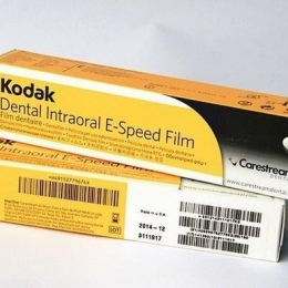 Рентгенпленка для Стоматологии 31 х 41мм 150 л. Kodak-E-speed Dental Film