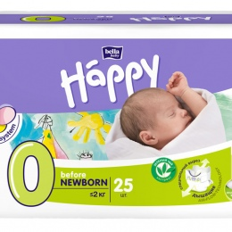 Подгузники Happy Before NEWBORN